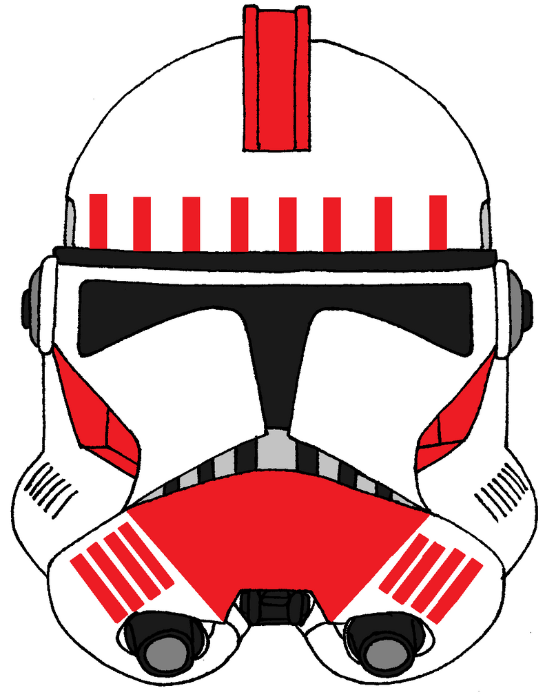Clone Trooper Helmet Vector Clone Trooper Helmet S...