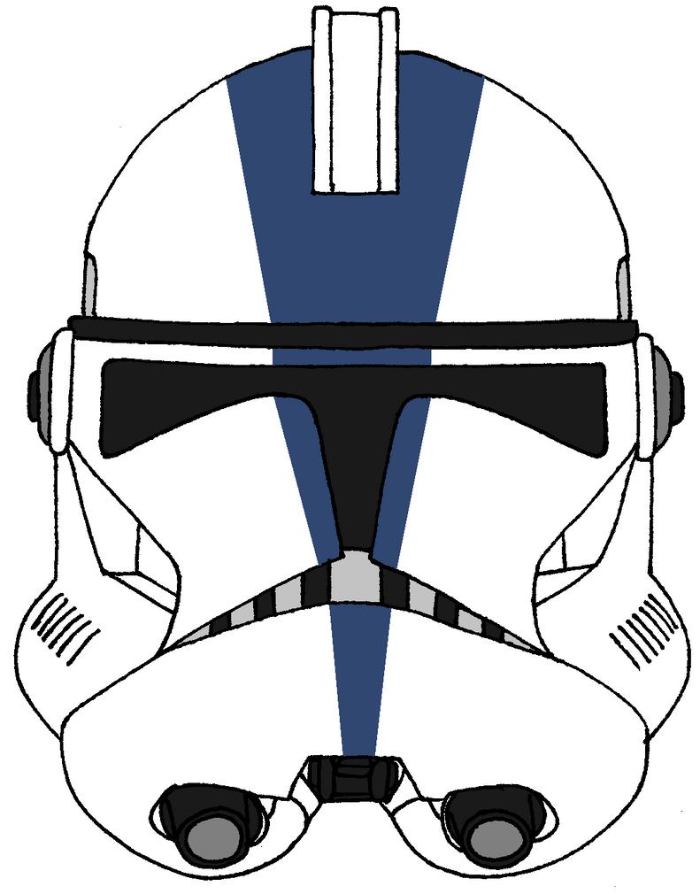 Clone Trooper Helmet 501st Legion 3 by historymaker1986 on DeviantArt
