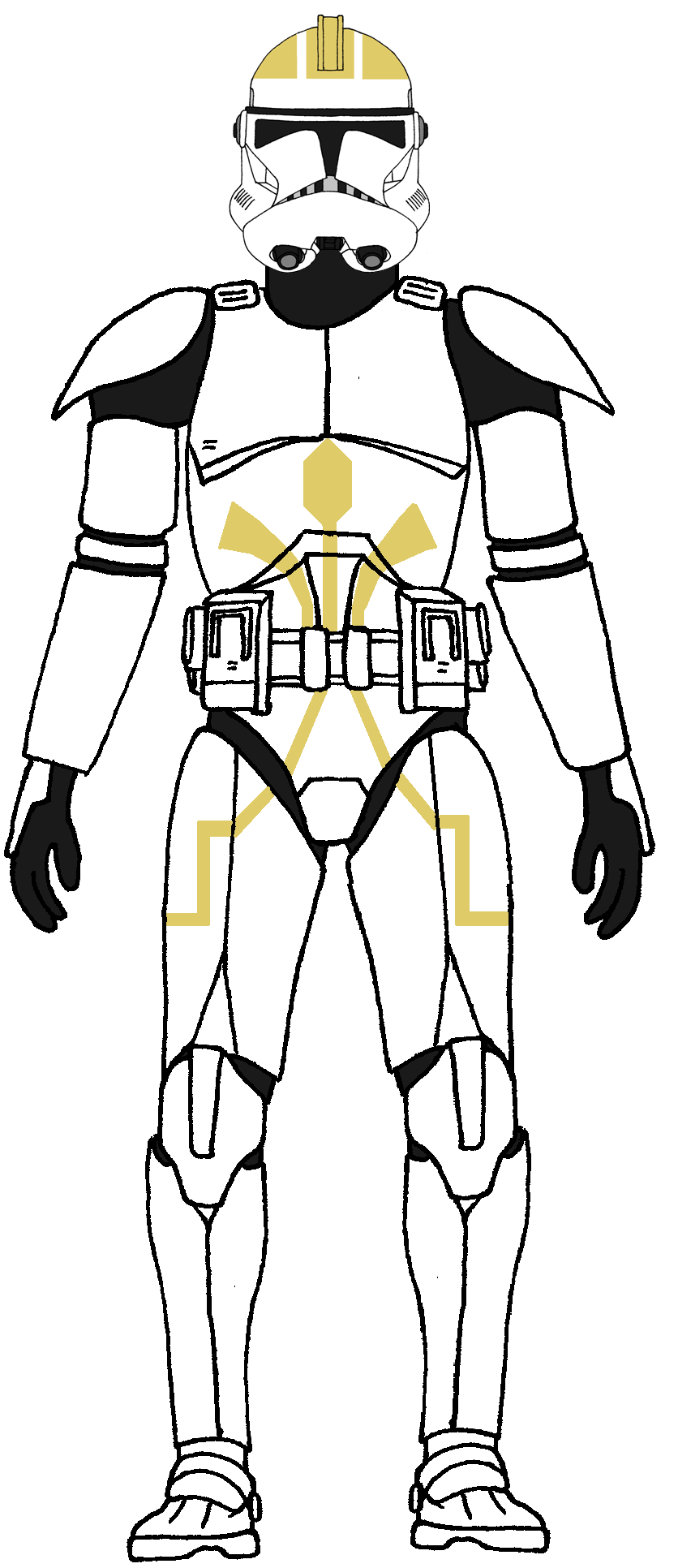 Clone Trooper 38th Armored Division Gaffa By