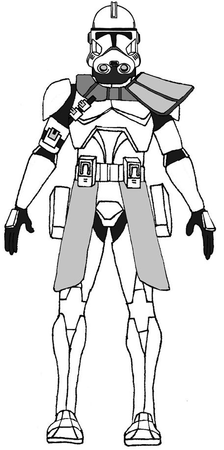 Nationstates dispatch the army for Clone trooper coloring pages