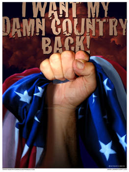 I WANT MY DAMN COUNTRY BACK