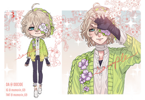 [CLOSED] Menhera Spring Adopt by DDcide