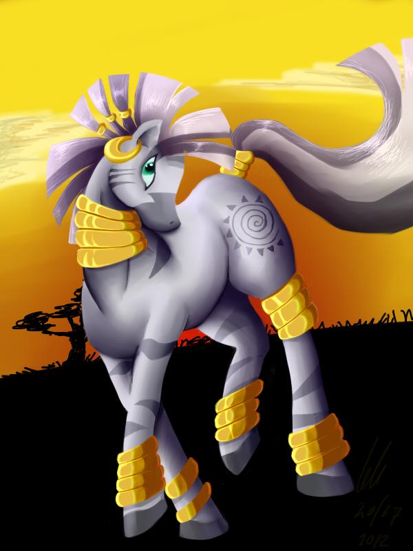 Princess of the blazing savannah by Phenri