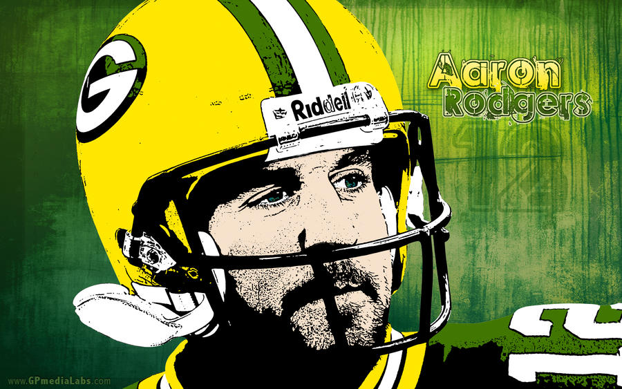 Packer Wallpaper Aaron Rodgers By Gp Media Labs