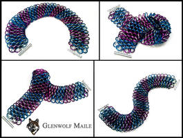 Dragonscale Collar in Stripes