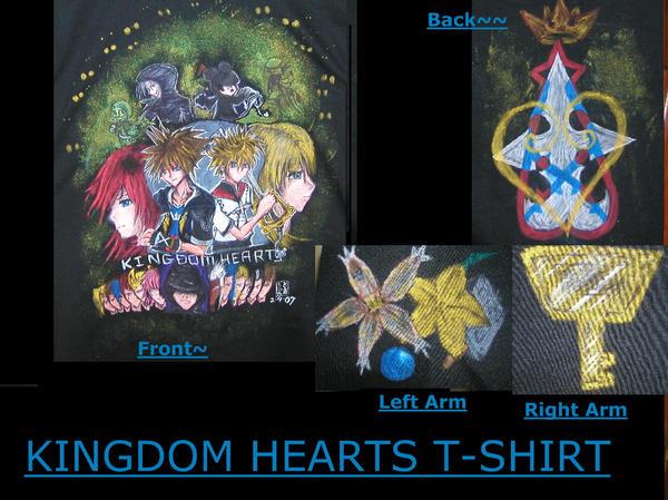 Kingdom Hearts T Shirt by Kagamikage