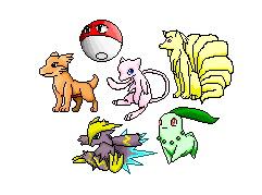 My Pokemon Sprites by Kagamikage