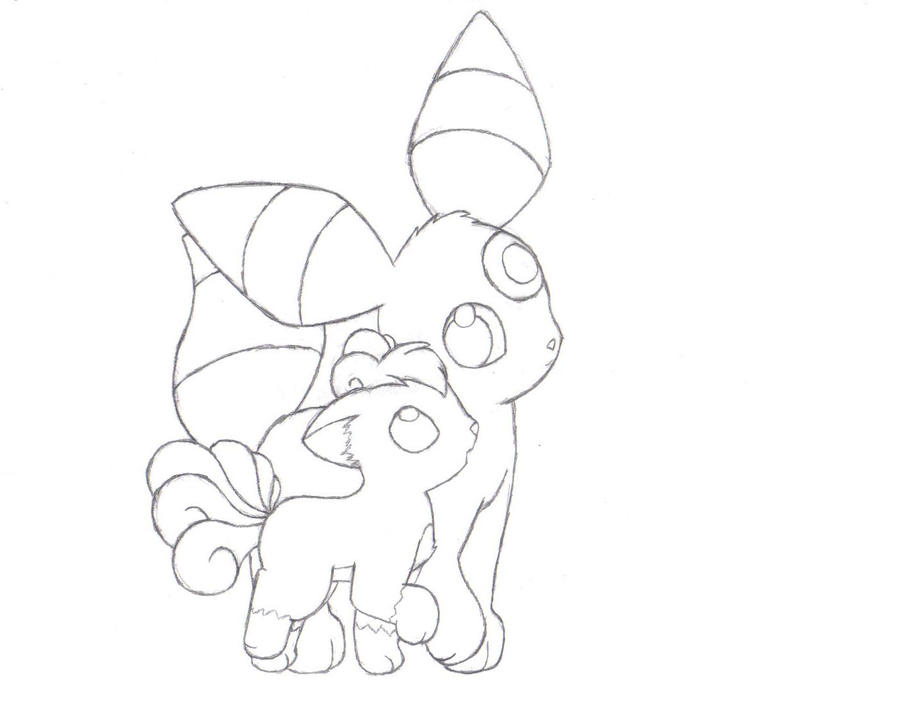 eeveelution coloring pages - photo #42