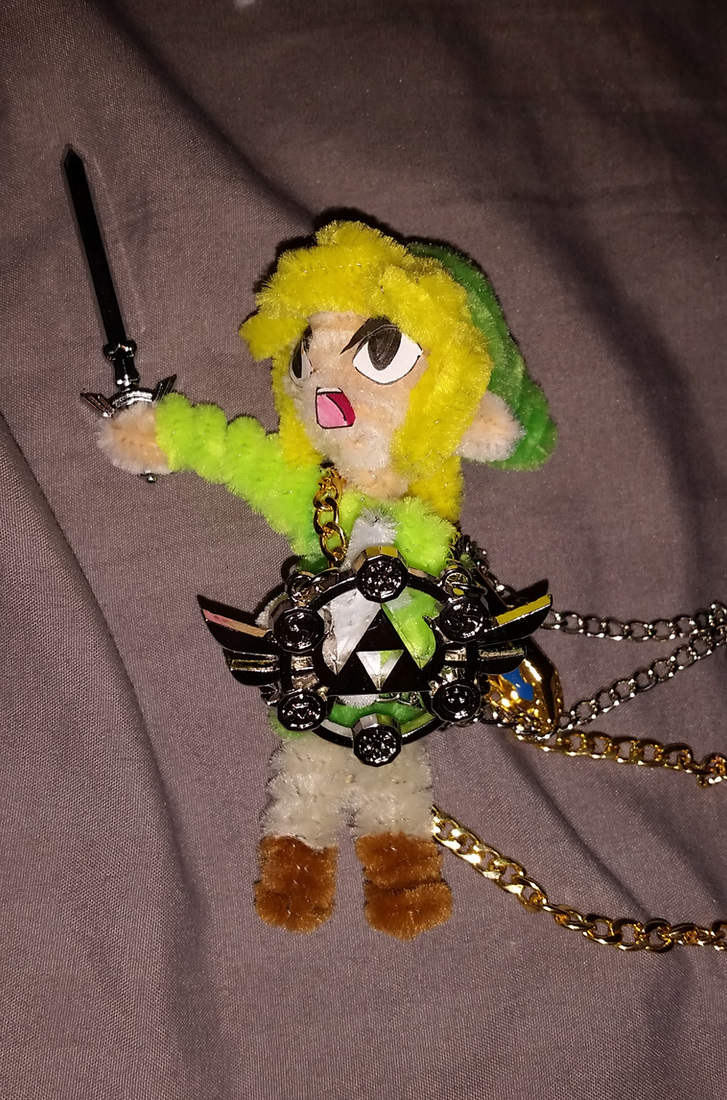 Toon Link Doll: Sword n Shield by PokeHihi