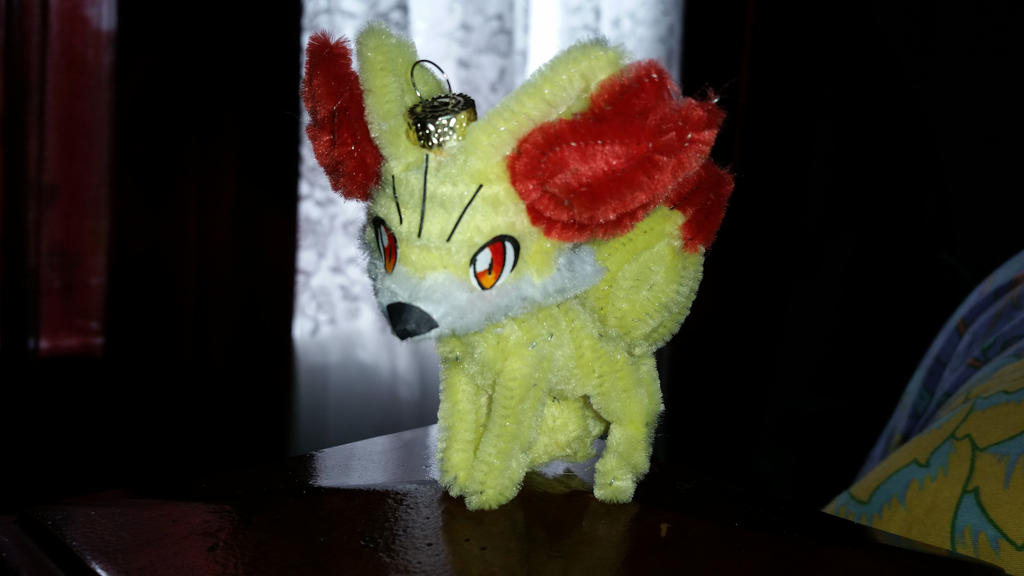 Fennekin Ornament by PokeHihi