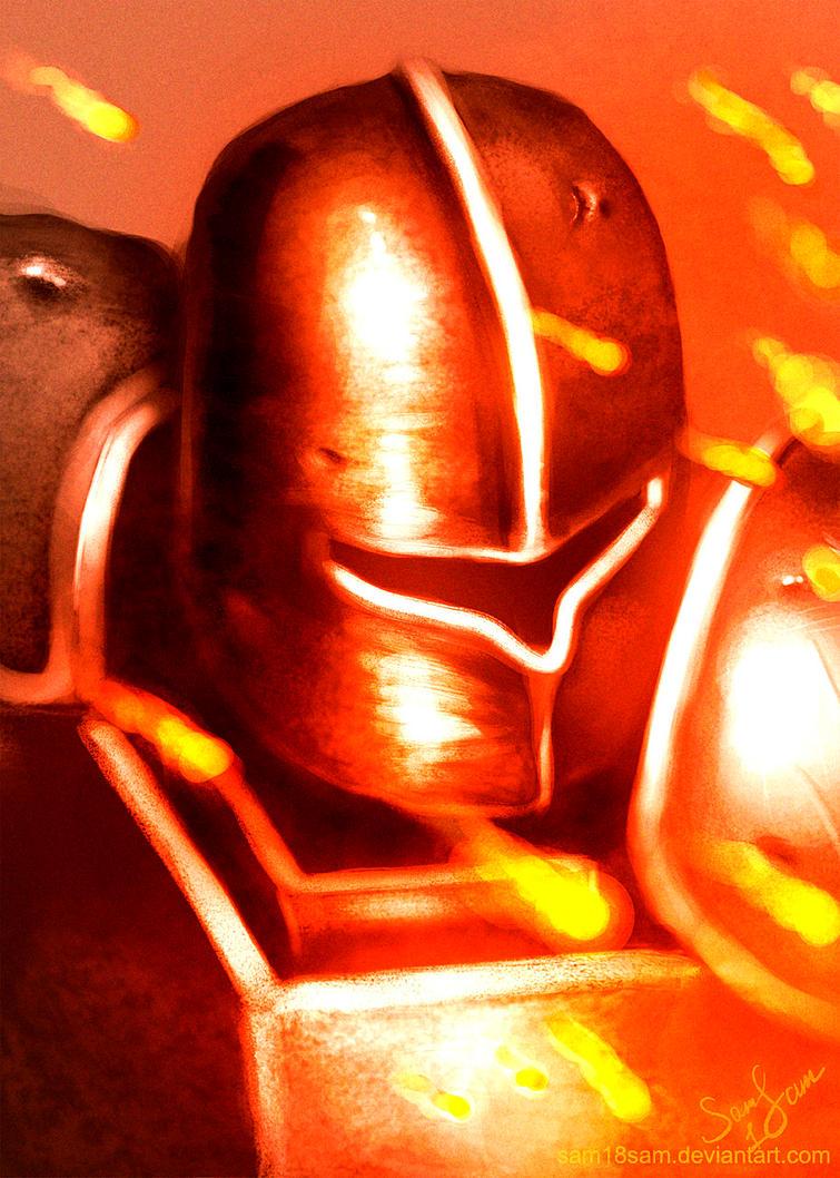 Knight by AITUARMANAS