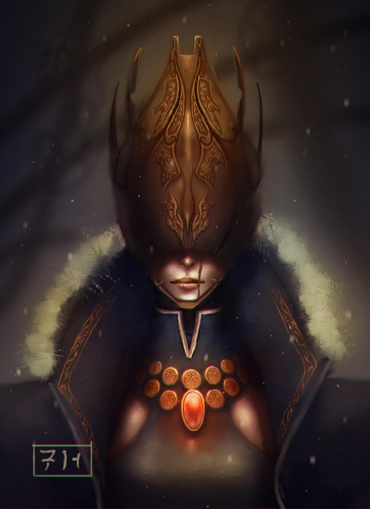 Queen Armageddon by AITUARMANAS