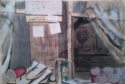 Christas Room Illustration by Paigeystu