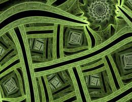 A Green Fractal by schindlabua