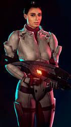 Mass Effect - Ashley Williams by haestromsfm