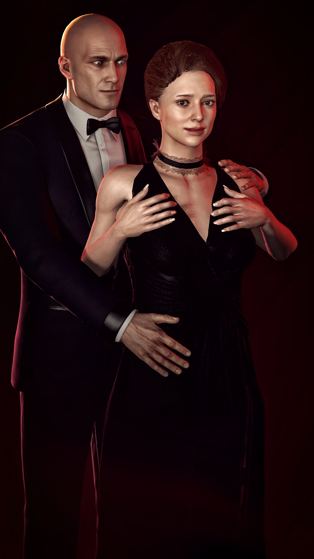 Hitman Agent 47 And Diana Burnwood By Haestromsfm On