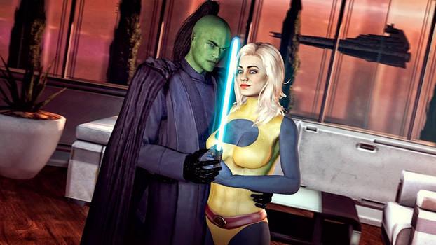 Star Wars - Prince Xizor and Guri