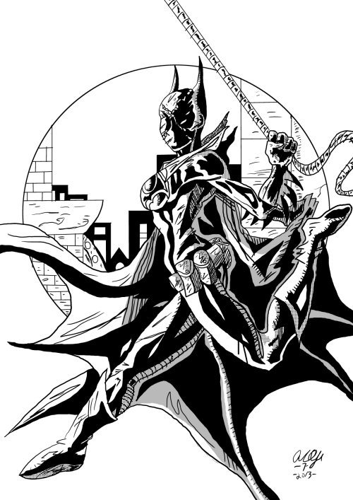 Batgirl Cassandra Cain by Lance-Danger
