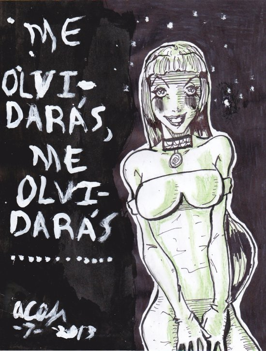 Me Olvidaras by Lance-Danger