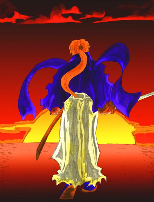 Kenshin after the war by Lance-Danger