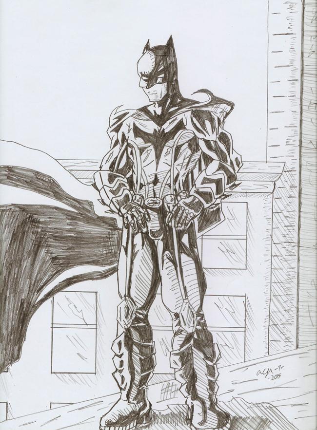 Batman 2015 by Lance-Danger