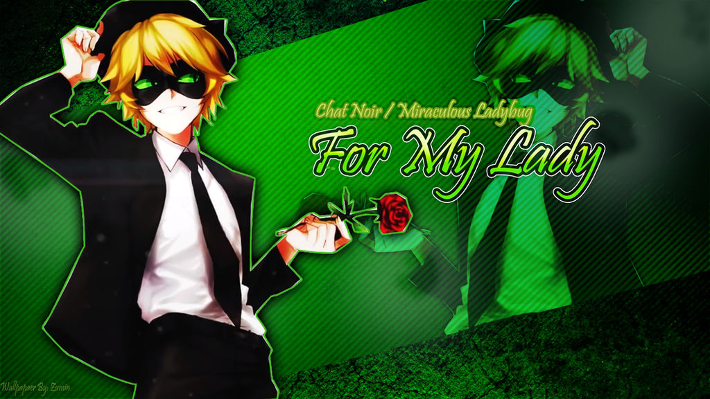 Wallpaper Chatnoir Miraculous Ladybug By Zumin Chan On