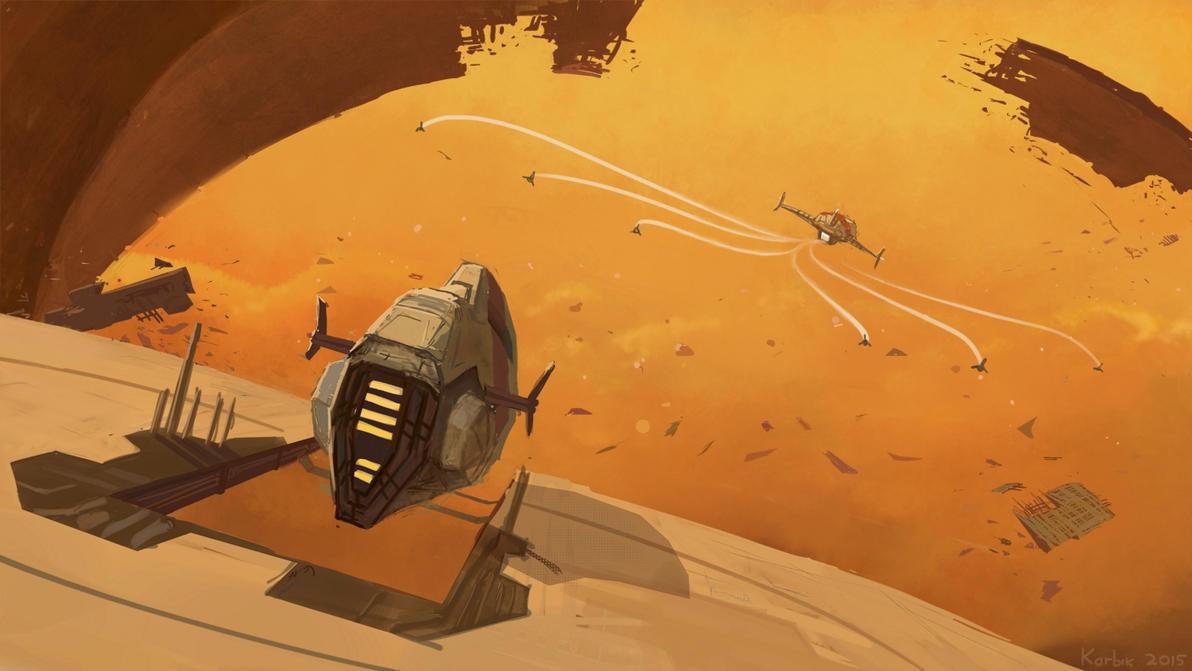 When stealing ancient starships, beware.. by Karbik