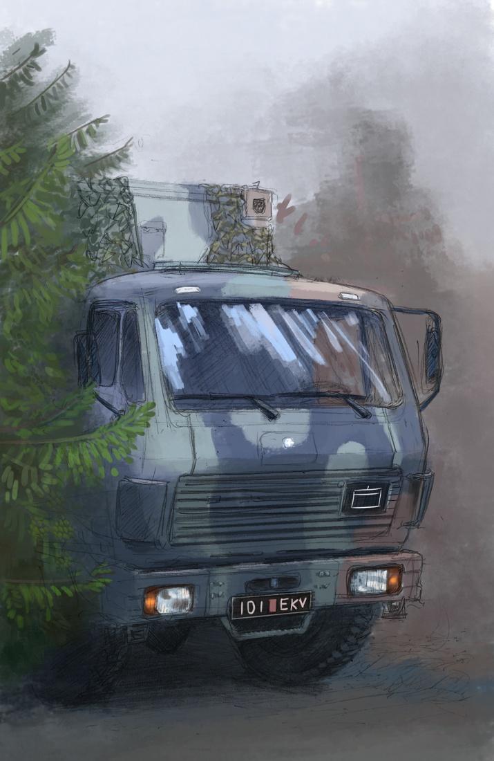 MILITARY SERVICE MEMOIRS - WEEK 34 by Karbik