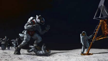 Lunar werewolves ! by Karbik