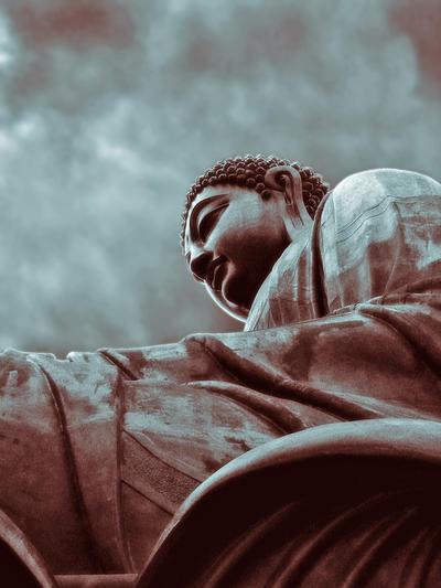 Tian Tan Buddha by kuntaldaftary