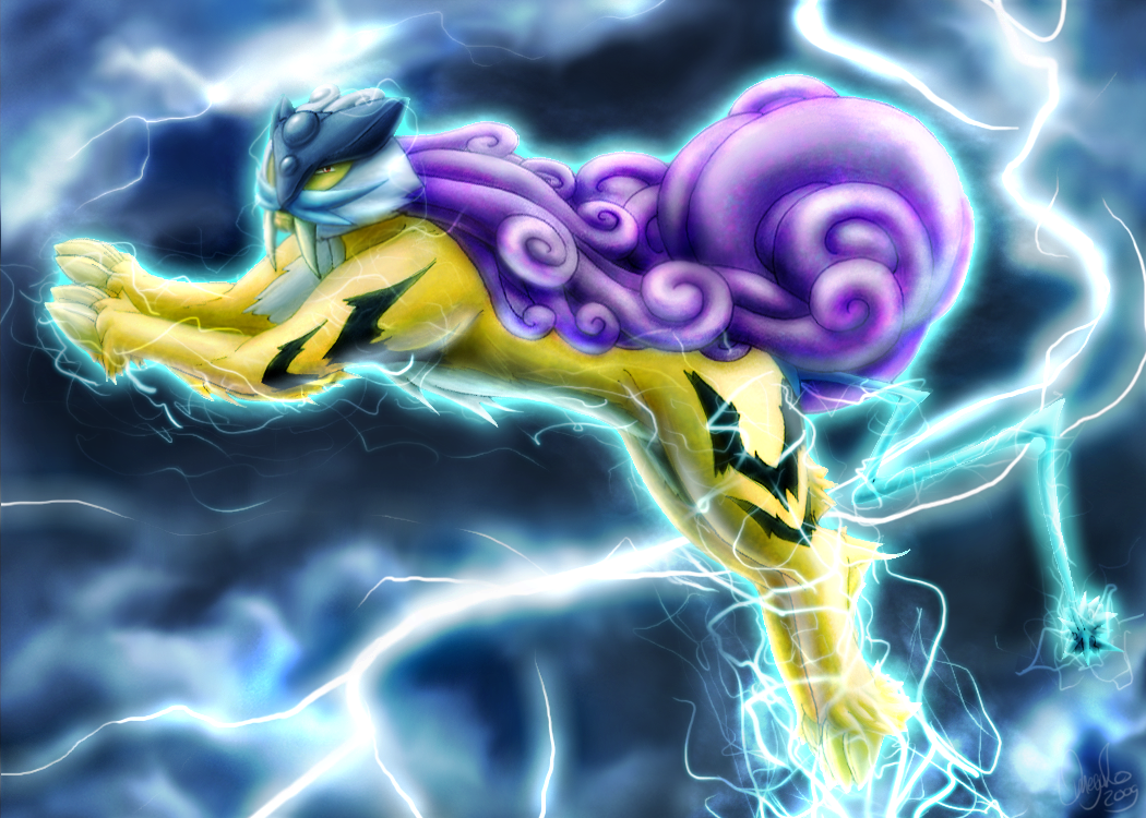 Pokemon is awesome! Look how awesome it is! Raikou__s_Freedom_by_Omegaro
