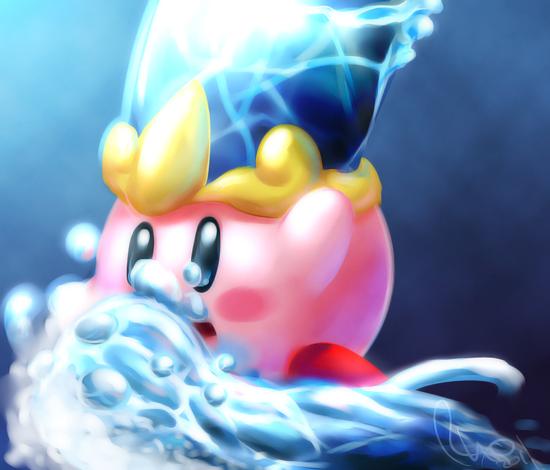 Water Kirby 15 min Sketch by Omegaro on DeviantArt