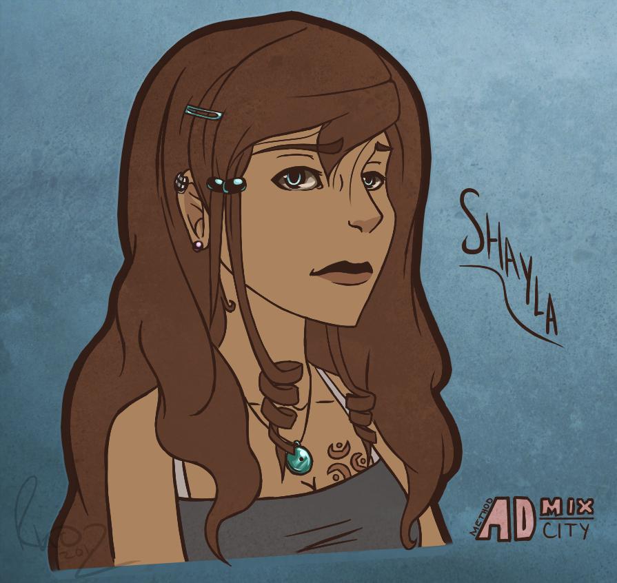 Shayla Portrait by Omegaro