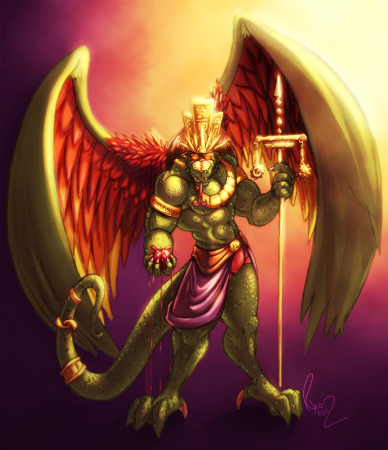 Quetzalcoatl's Judgement by Omegaro
