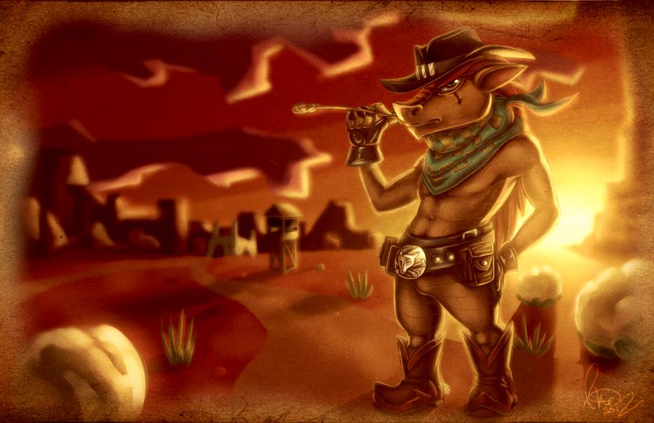 Wild Wild West Yall by Omegaro