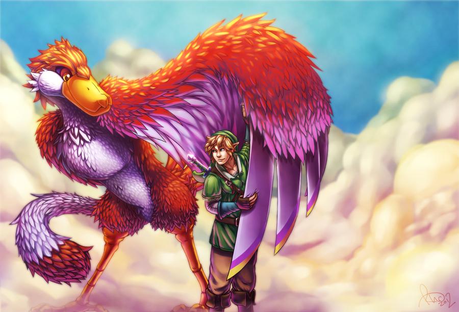 Zelda Skyward Sword by Omegaro