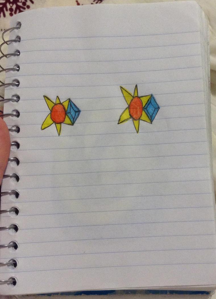 Sun earrings  by redrosabell