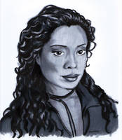 Gina Torres by fat-girl-dani