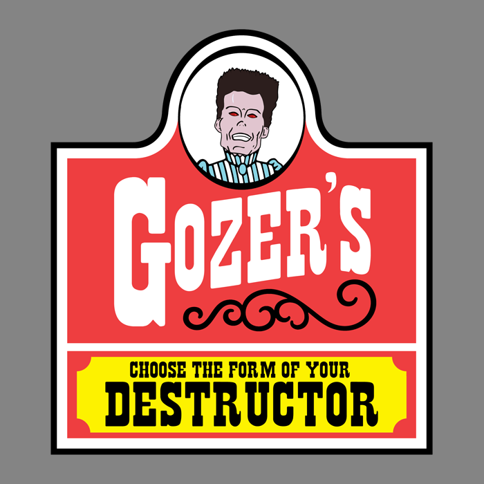 Gozer's: Choose the form of your destructor! by GhostbustersNews ...