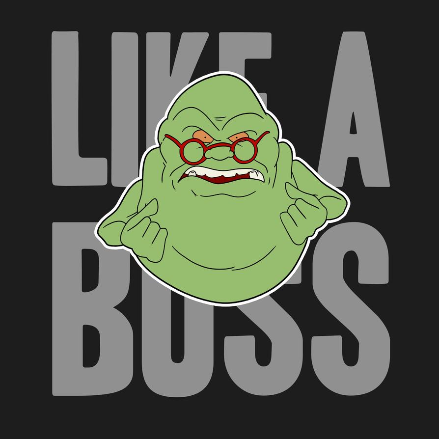 Slimer: Like A Boss! by GhostbustersNews