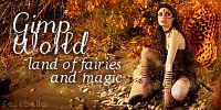 Gimp World Fairies - Orange