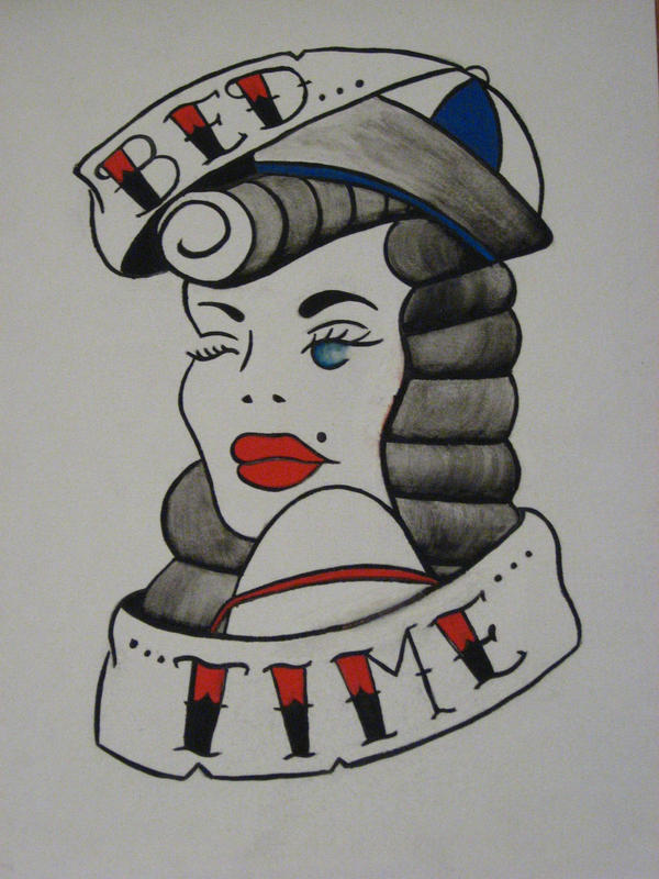Pin up tattoo flash by y2kbug18 on deviantart for Pin up tattoo flash