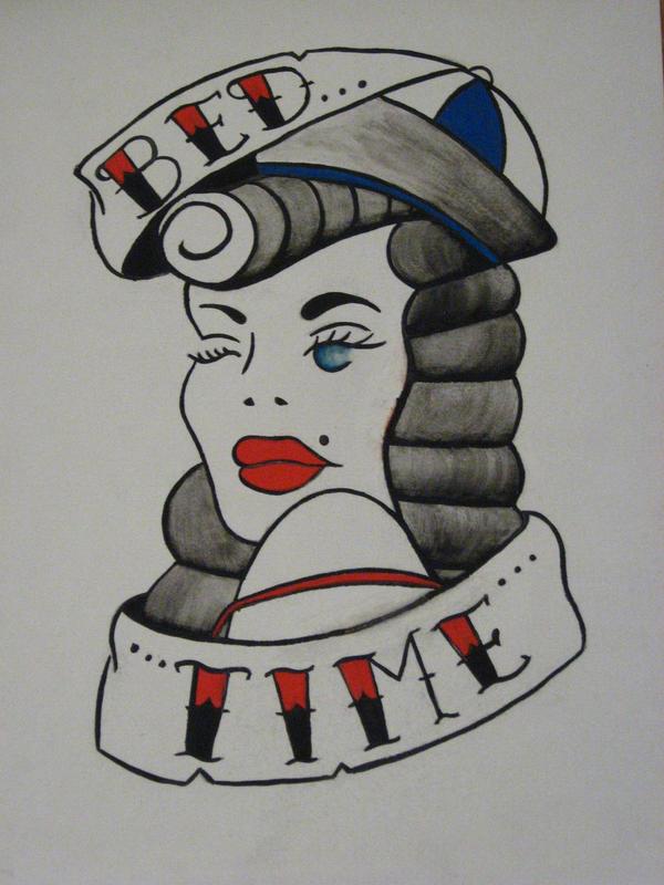 Pin up Tattoo by fatihodabas0 on DeviantArt