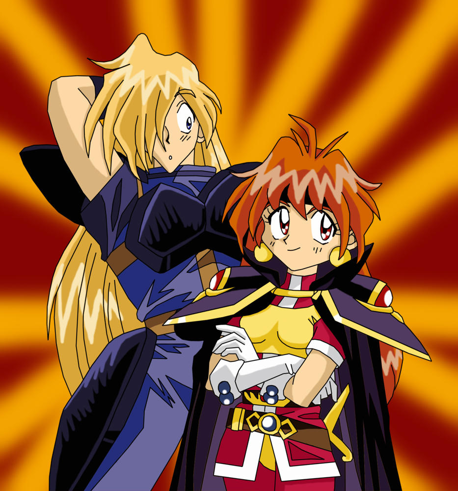 Gourry having sex with lina