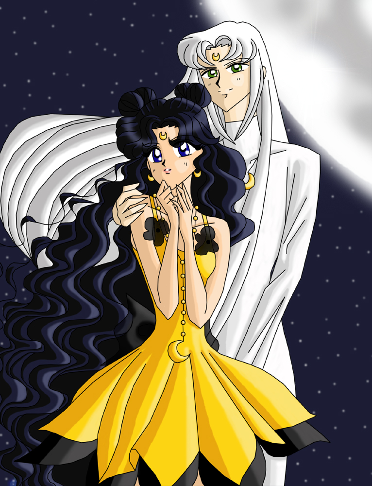 Luna And Artemis By Amayakouryuu On Deviantart
