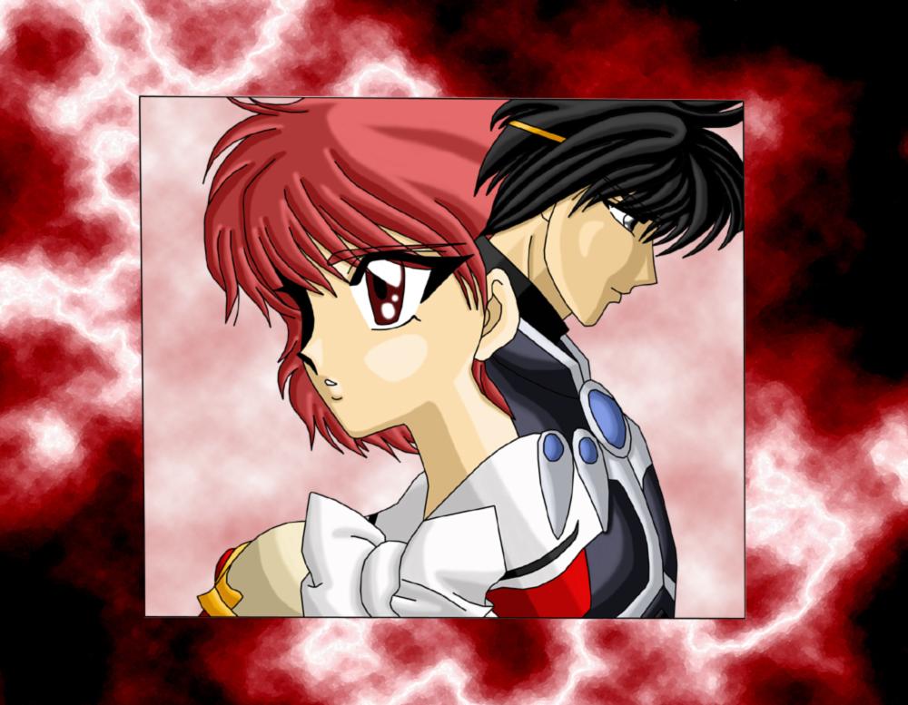 MKR: Hikaru and Lantis by AmayaKouryuu