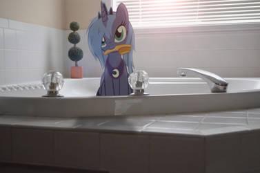 Bath Time Luna by Oppositebros