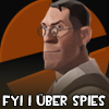TF2 Avatar : Medic loves spies by NinjaSaus