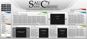 Personal website concept v1