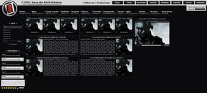 Personal website concept v3